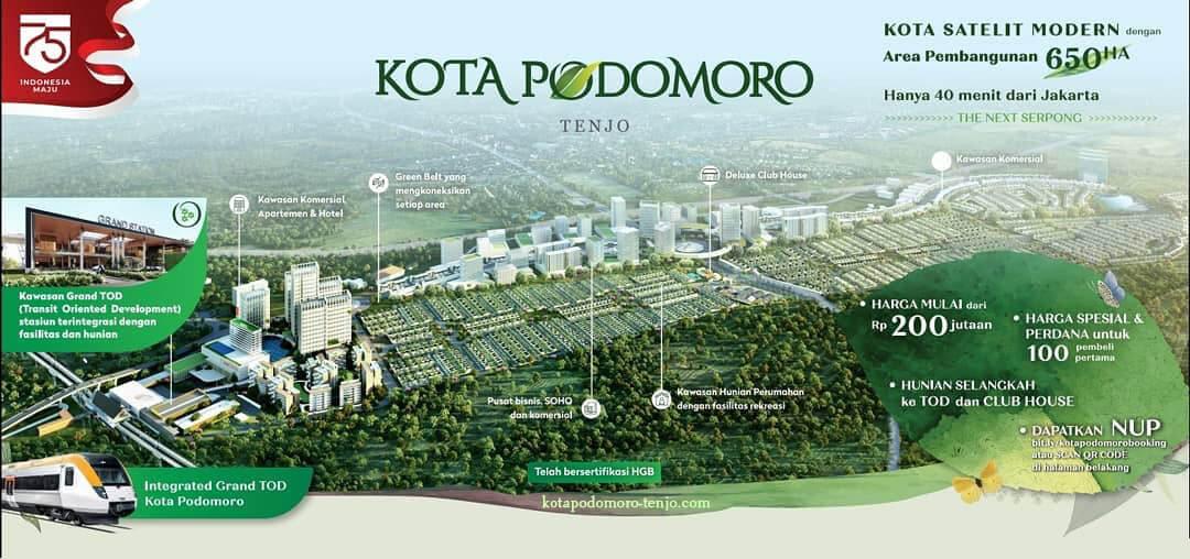 Kota Podomoro Tenjo Header