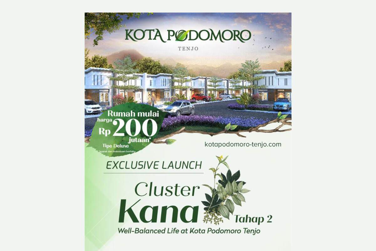 Launching Cluster Kana Kota Podomoro Tenjo