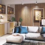 Show Unit Rumah Kenanga Podomoro Tenjo Tipe 36 - Living Room